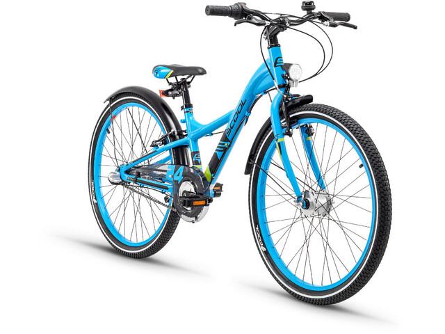 s'cool XXlite 24 3-S Børnecykel alloy blå (2019)   City-cykler